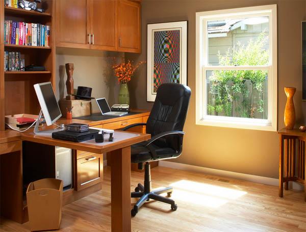 Домашний офис, обустраиваем рабочее место