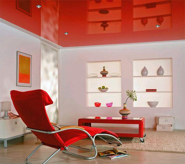 Натяжные потолки: некоторые особенности материалов и монтажа