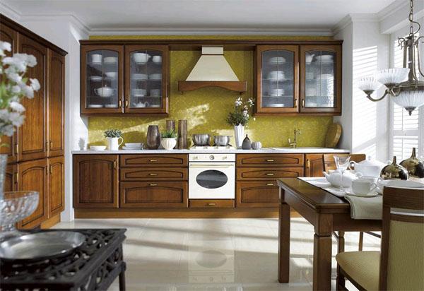 Кухня из массива дерева: эталон долговечности и качества