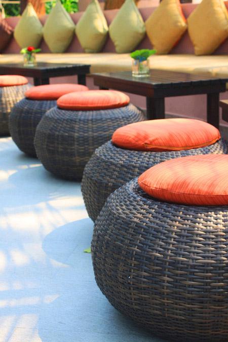 Плетеная мебель: мода возвращается
