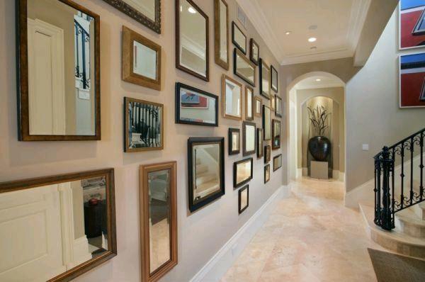 Зеркало, как декоративный элемент интерьера
