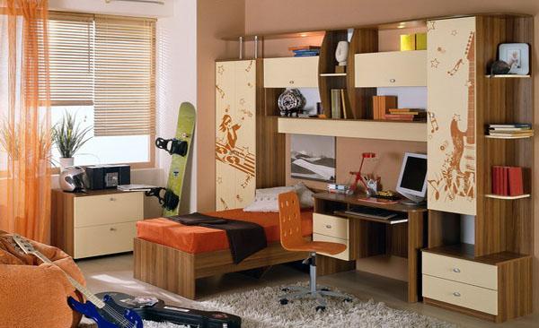 Молодежная мебель должна быть стильной