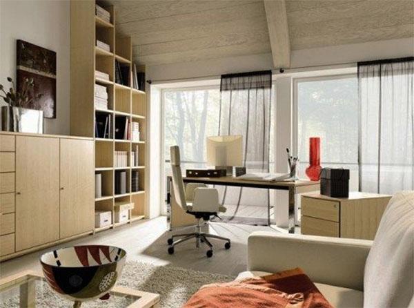Какая мебель необходима в домашнем кабинете?
