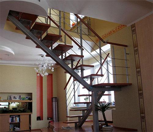 Металлические лестницы в доме: главные преимущества