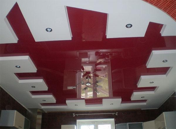 Натяжные потолки из ПВХ и тканевые класса люкс