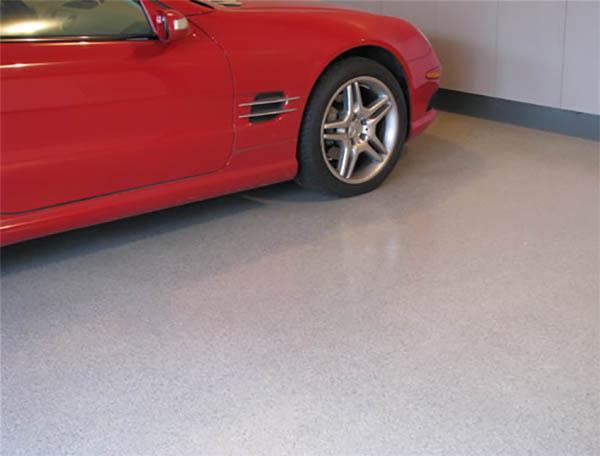 Наливные полимерные полы для гаража: виды и отличия