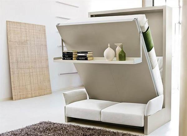 Трансформируемая мебель: практичное решение для небольших помещений