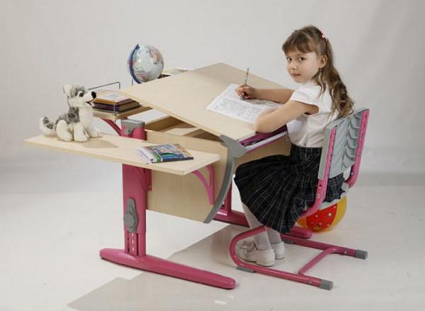 Выбираем письменный стол для школьника: оптимальное решение — парта-трансформер