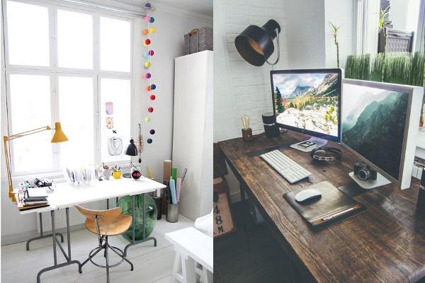 Как организовать дома рабочее место?