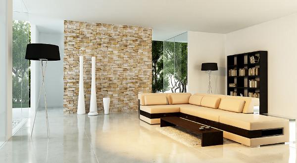 Гипсовая плитка под «кирпич» и «камень»: легкий способ преобразить интерьер